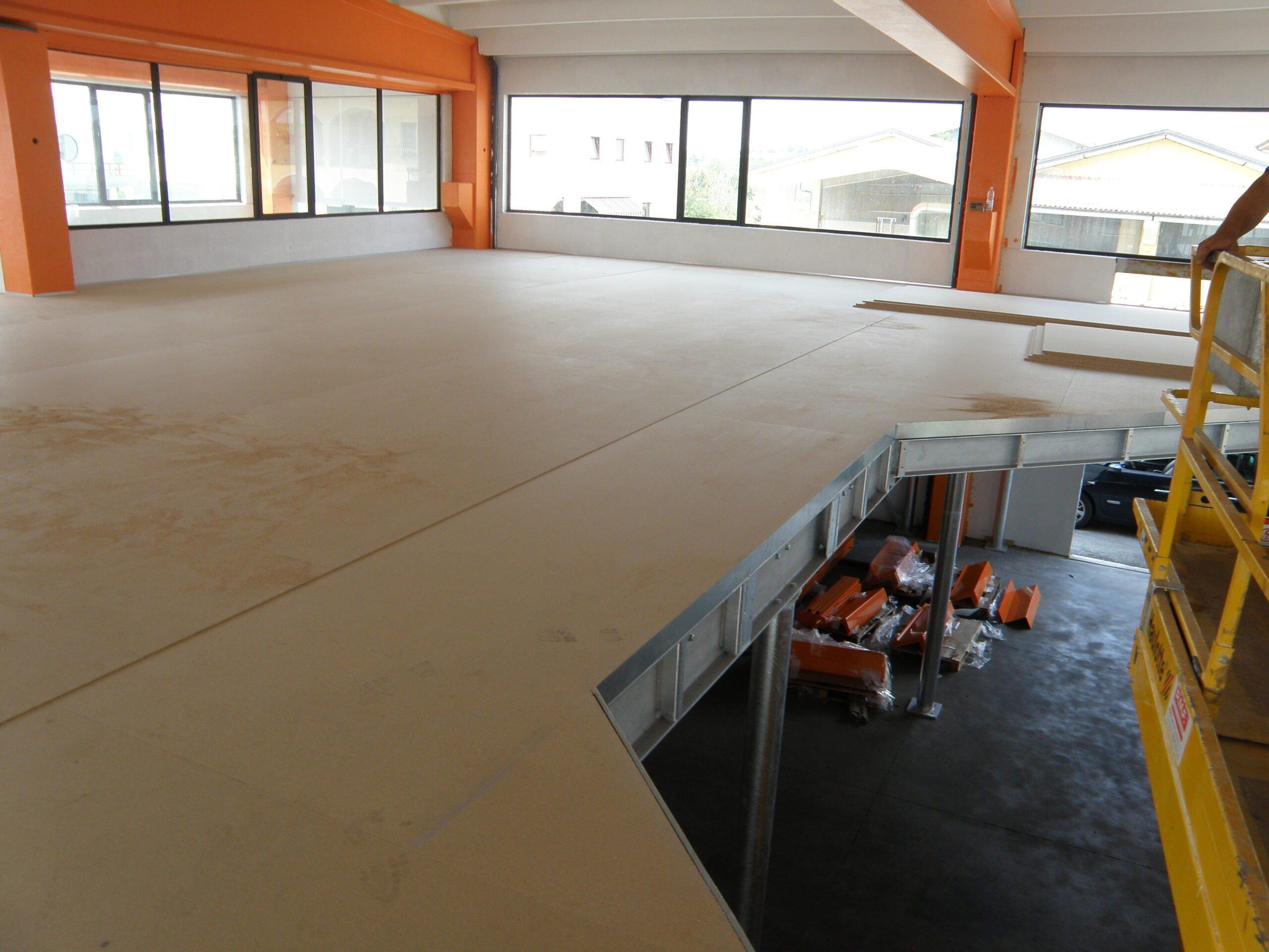 soppalchi in carpenteria per magazzini