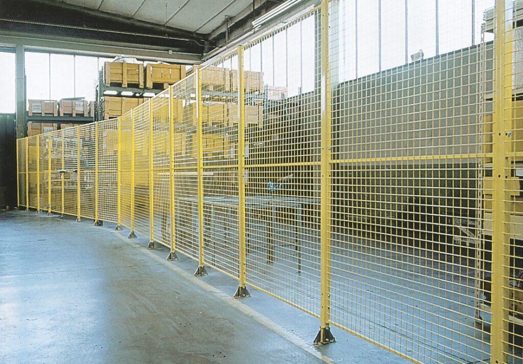 Pannelli modulari e reti divisorie