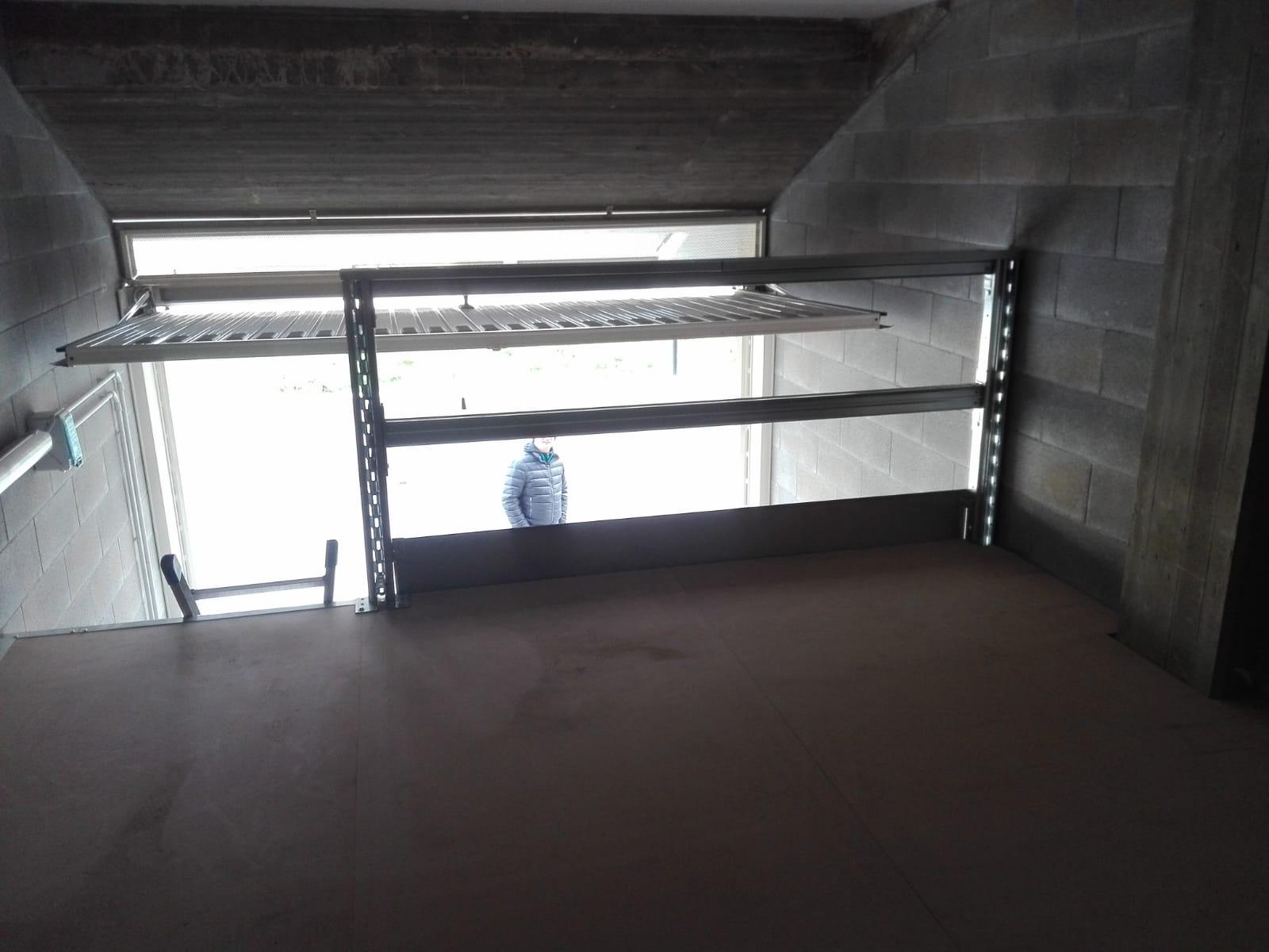 Scaffali garage auto