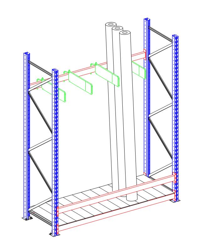 Rastrelliere per stoccaggio verticale