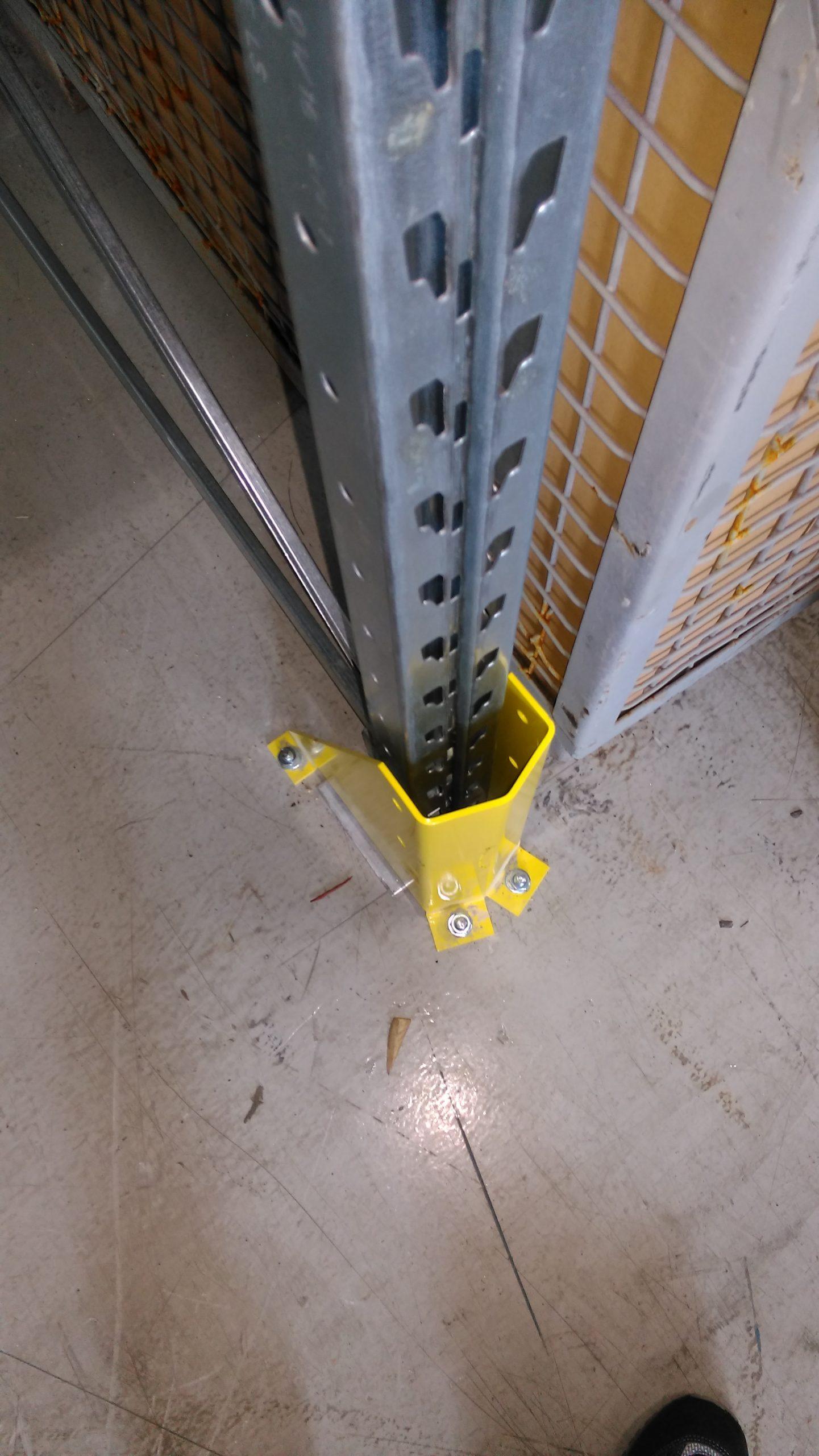 Vendita protezioni paracolpi per scaffali portapallet